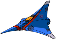 Transformers G1 Thundercracker tetrajet