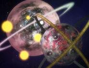 Planet X gegen Gigantion