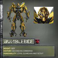 Bumblebee Transformers 5