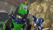 Strongarm, Grimlock and Laserbeak