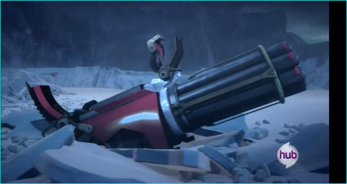 Optimus's Machine Gun