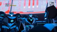 Cyberwarp look Riotgear and Treadshock