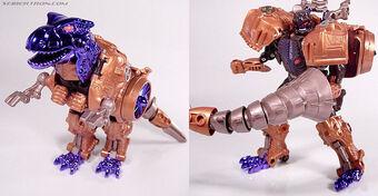 Takara Transformers Beast Wars Metals D-40 Megatron figure
