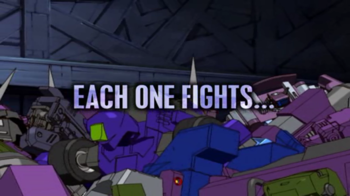 Each One Fights...