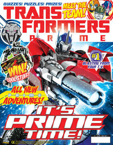 Transformers Comic issue 4.1