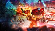 Transformers War for Cybertron Earthrise Poster 2