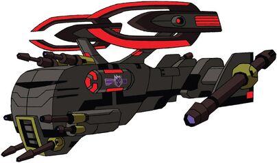 Transformers Animated Blackout spaceship.jpg