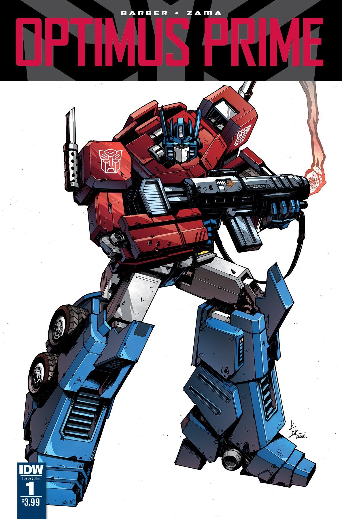 Optimus Prime (Comicserie)