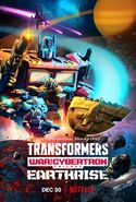 Transformers War For Cybertron Trilogy Earthrise Poster 01