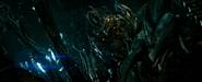 Megatron met zijn meester