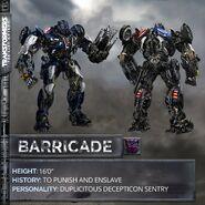 Barricade Transformers 5 Bot Mode