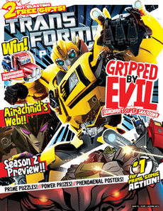 Transformers Comic issue 4.12