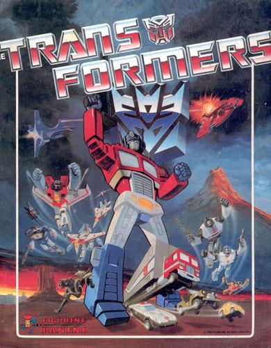 The Transformers Sticker Book (1986)
