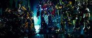 Autobots find Sam and Mikaela