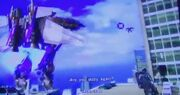 Human Alliance Optimus and NEST VS Skywarp.jpg