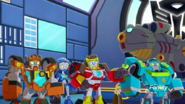 Recruits with Grimlock and Cody