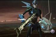 Arcee with Omega Key and Apex Armor