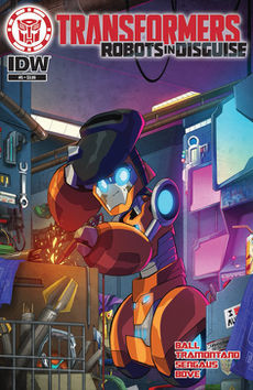 Robots in Disguise comic issue 5