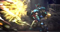 Ultra Magnus fights Predaking.png