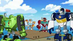 Rescue Bot team on the island.jpg