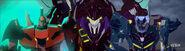 Roughedge, Starscream's Insecticon and Shadelock