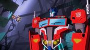 Cyberverse Das Ende des Universums Teil 2 Optimus Prime in einer anderen Dimension