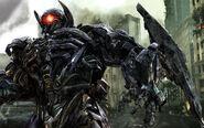 Shockwave in transformers 3-wide