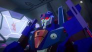 Thundercracker is in charge of the ship now (S1E16)