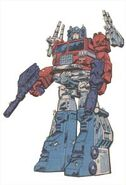 Optimusz Powermaster - Robot mode in Marvel Comics