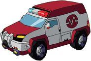 Animated Ratchet ambulance