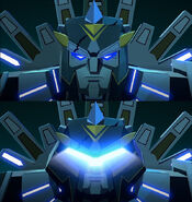 Cyberverse Das Ende des Universums Teil 2 Iaconus Gesicht
