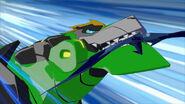 Grimlock caught Laserbeak