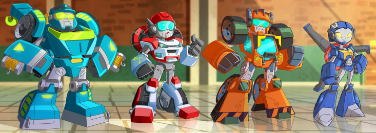 Rescue Bot Trainees