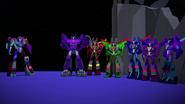 Shockwave, Shadow Striker und Seekers sind geteilt