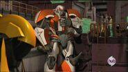 Orion Pax part 1 screenshot Ratchet and team