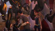 Prey screenshot Jack and Raf hug
