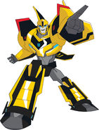 Transformers Robots in Disguise Bumblebee Concept Art