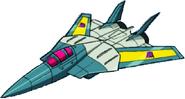 Transformers Victory Leozack jet