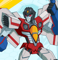 Starscream Cyberverse