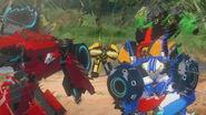 Lockout Autobots vs subsonics