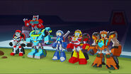 Heatwave and Rescue Bot Recruits
