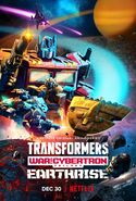 Transformers War for Cybertron Earthrise Poster 5