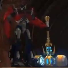 Transformers Masterpiece Solus Prime marteau de forge Accessoire Seulement