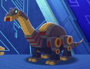 Sludge in Dinobot mode
