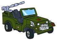 G1 Hound jeep