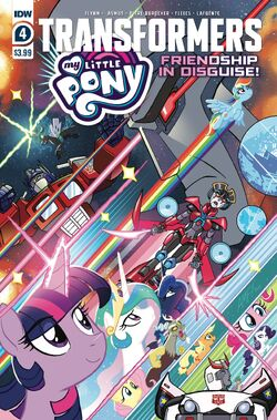 My Little Pony Transformers issue 4 cover A.jpg