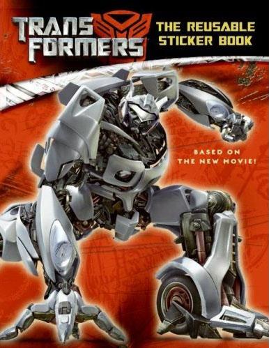 Transformers The Reusable Sticker Book