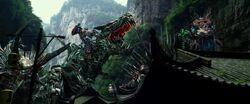 Drift Riding Slug Optimus Riding Grimlock Crosshairs Riding Scorn 3.jpg