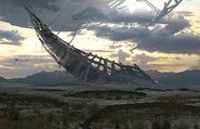Transformers 5 Concept Art Unicron Horn