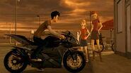 Jack, Arcee, Sierra, and Sierra's friend